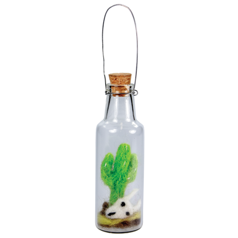 Bottle Ornament | Saguaro