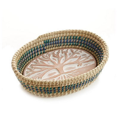 Tree of Life Breadwarmer | Blue