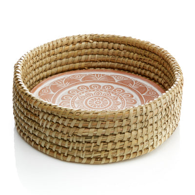 Mandala Breadwarmer & Basket