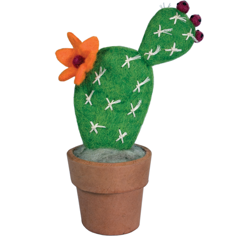 Felt Cactus | Small Prickly Pear
