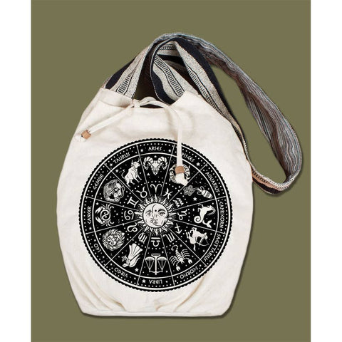 Canvas Boho Bag | Zodiac