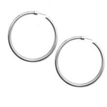 Hoop Earrings Jumbo 2.4""