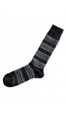 Alpaca Socks | Kelly Striped | 3 Colors