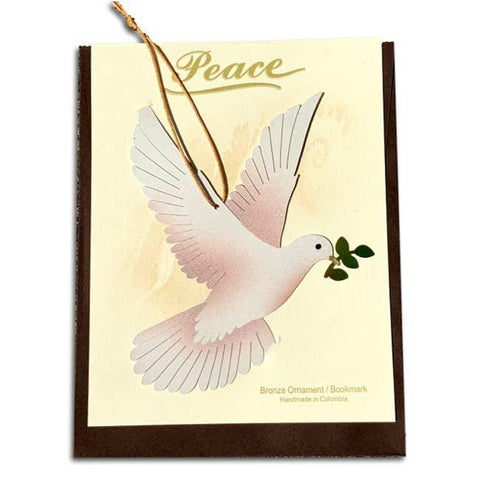 Ornament Card | Peace Dove