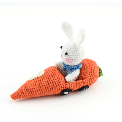 Easter | Crocheted Racer Bunny #9