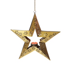 Metal Hanging Star Lantern