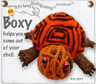 String Doll | Boxy the Box Turtle