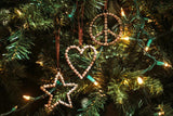 Bike Chain Ornament | Heart
