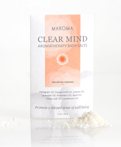 Aromatherapy Bath Salts| Clear Mind