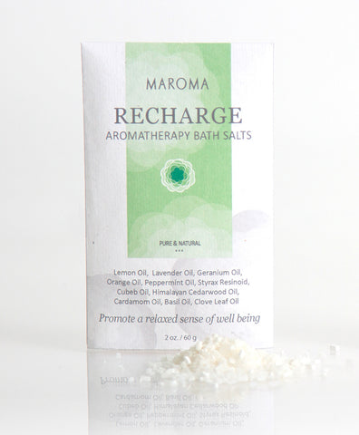 Aromatherapy Bath Salts | Recharge