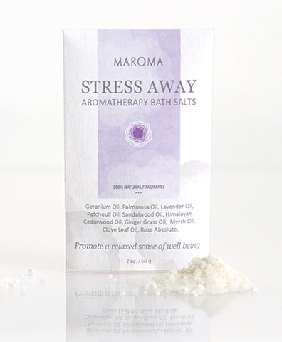Stress Away Aromatherapy Bath Salts