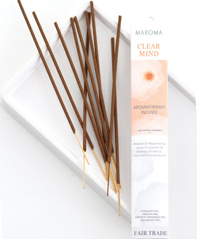 Aromatherapy Incense | Clear Mind
