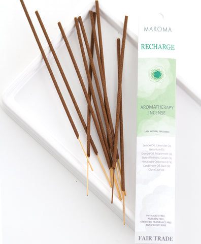 Aromatherapy Incense | Recharge