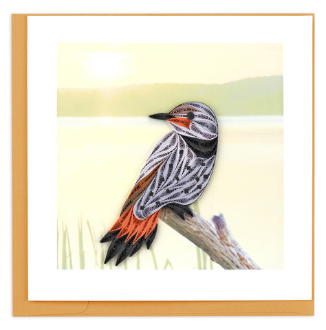 Northern Flicker Quilling Card