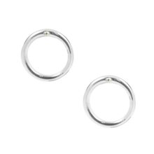 Virtuous Circle Earrings Medium .75""