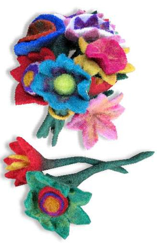 Felted Wool Flower | Small