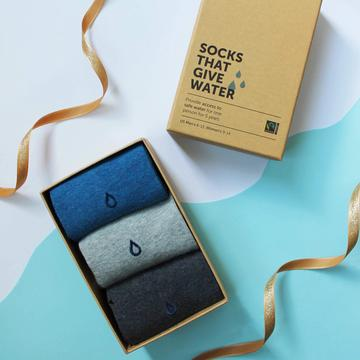 Socks That Give Water Gift Box