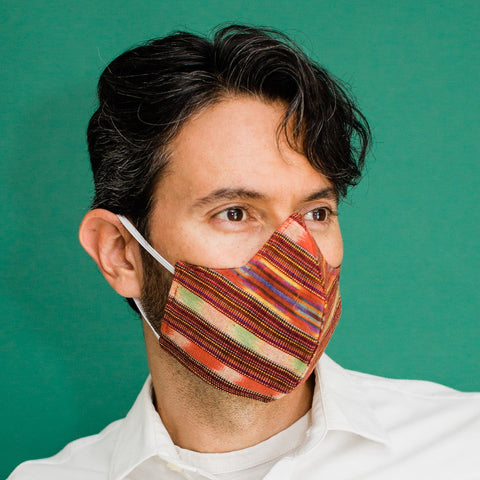 Ikat Duckbill Face Mask | Adult (2 Sizes)