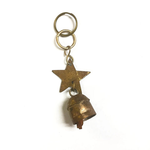 Metal Micro Bell Keychain
