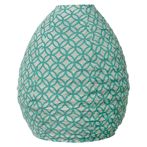 Cloth Beehive Lantern | Turquoise Rings