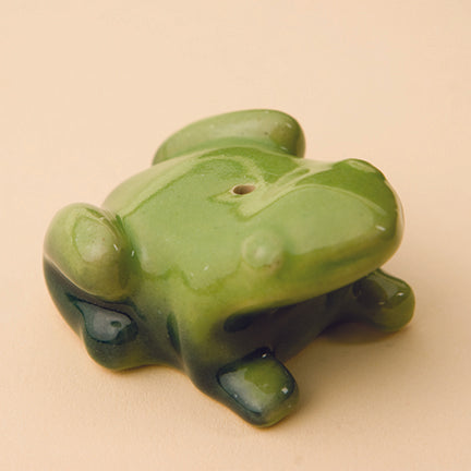 Ceramic Incense Holder | Frog