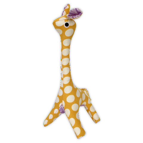 Upcycled Baby Giraffe - Yellow