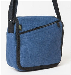 Hemp Slant Zip Bag