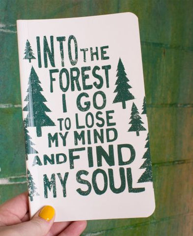 Recycled Nature Notebook | Into The Forest