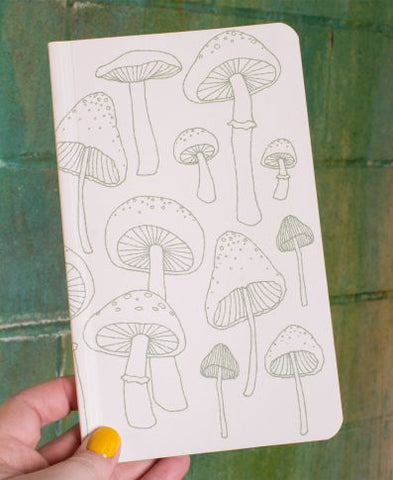 Recycled Nature Notebook | Mushrooms