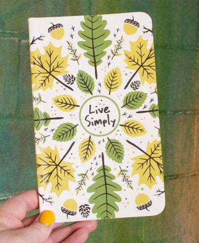 Recycled Nature Notebook | Live Simply