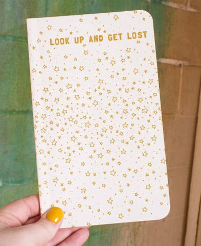 Recycled Nature Notebook | Look Up And Get Lost