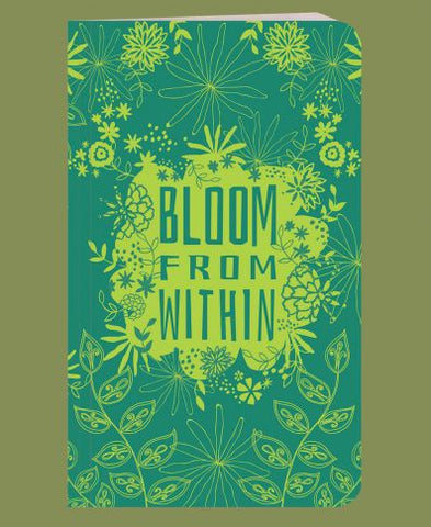 Recycled Bright Notebook | Bloom From Within