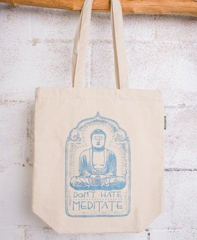 Eco Tote Bag | Don't Hate Meditate