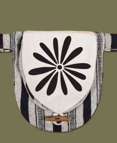 Canvas Hip Bag | Daisy