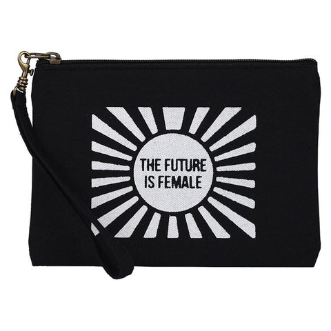 Statement Wristlet Pouch | Future Is Female