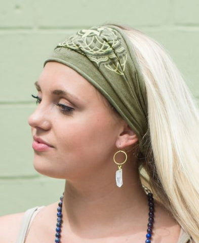 Boho Headband | Choose Love Chakra