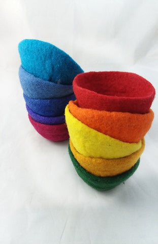 Felted Wool Bowl | Small