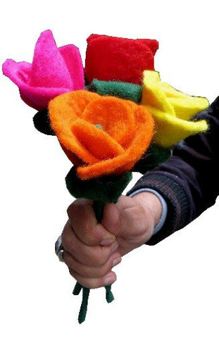 Felted Wool Flower | Single Rose