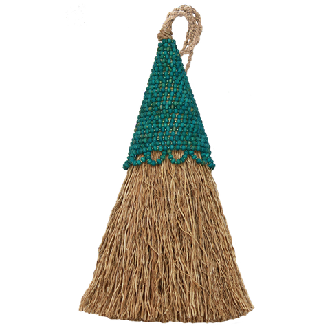 Vetiver Tassel | Teal