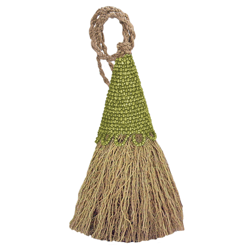 Vetiver Tassel | Green
