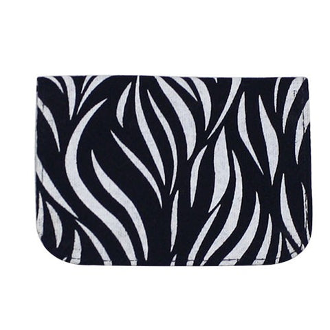 Screen Print Card Holder | Floral | 4 colors