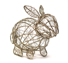 Easter | Wrapped Wire Bunny