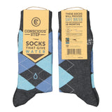 Socks That Give Water | Argyle