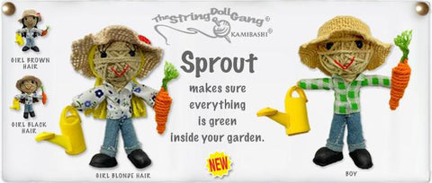 String Doll | Sprout the Gardener (Girl)