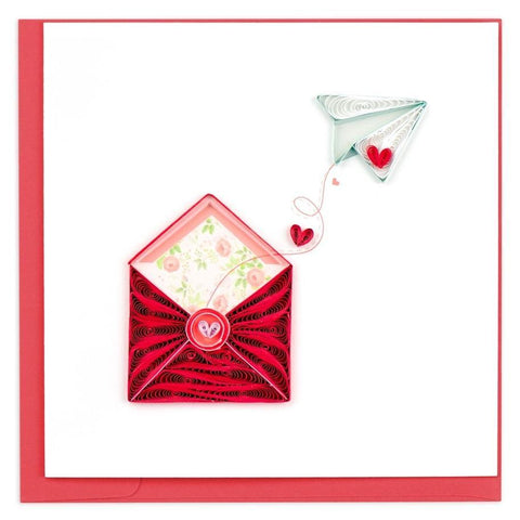 Love Letter Quilling Card