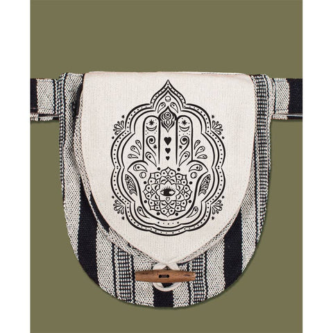 Canvas Hip Bag | Hamsa Hand
