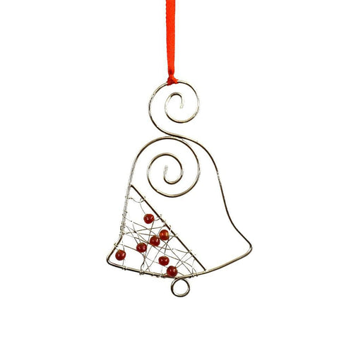 Beaded Ornament | Christmas Bell