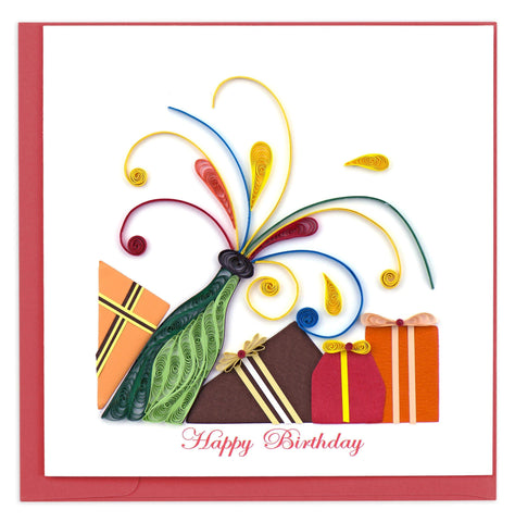 Pop-It Birthday Quilling Card
