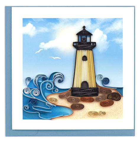 Lighthouse Quilling Card