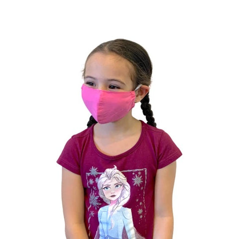 Cotton Face Mask | Child | 2-4 | Pink